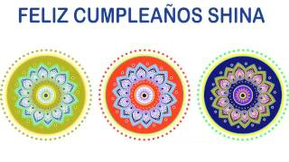 Shina   Indian Designs - Happy Birthday