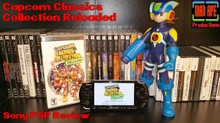 Capcom Classics Collection Reloaded Sony PSP Review