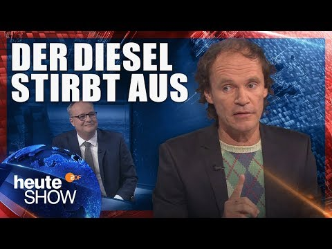Olaf Schubert über die drohenden Dieselfahrverbote   heute-show vom 02.03.2018