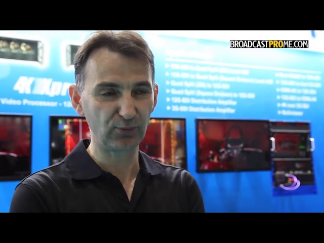 2018 BroadcastPro CABSAT - Ray Kalo of plura
