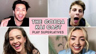 Peyton List And The Cobra Kai Cast Reveal Who Would Show Mercy And More! | Superlatives | Seventeen