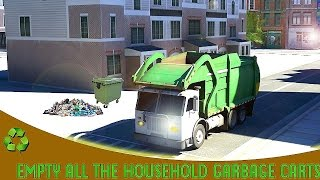 City Garbage Truck Simulator - Gameplay Android
