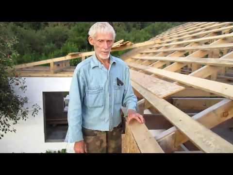 Крыша. Изготовление свесов ✔ [Построить дом своими руками]