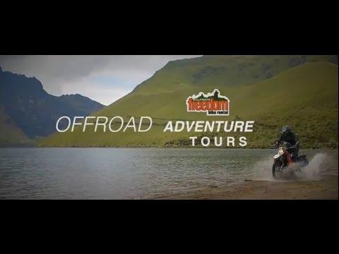 OFFROAD Motorcycle Adventure Tours in Ecuador