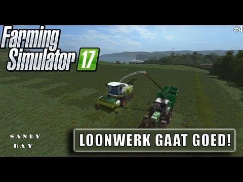 """""""LOONWERK GAAT GOED!"""" FarmingSimulator 17 Sandy Bay #4"""