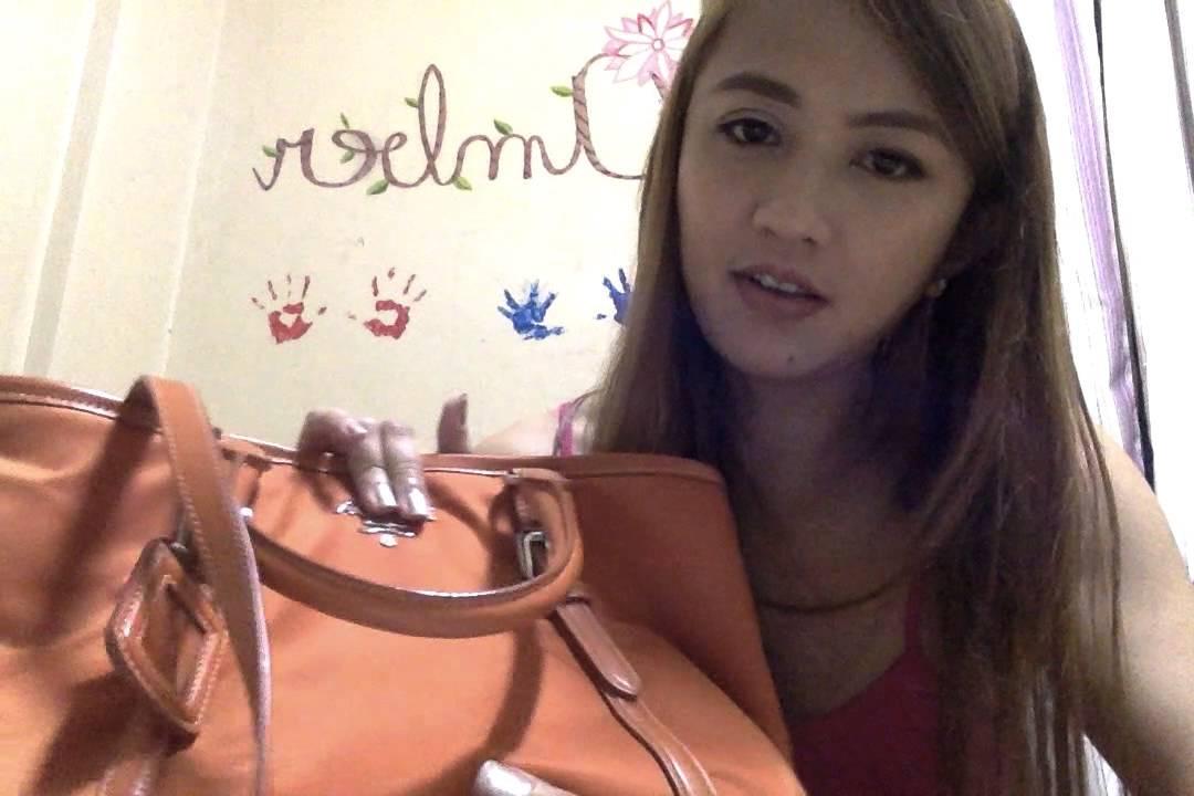 purse blue replica - Authentic vs Replica Prada Hand Bag - YouTube