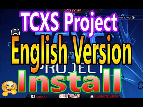 TCXS Project English Version How to Install Han PS3