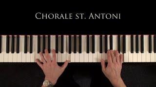 Chorale St. Antoni (Haydn / Brahms) - Piano