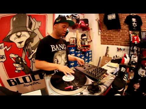 Dj Pray´One freestyle scratch @ Block Shop Barcelona