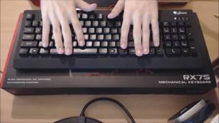 tastatura natec genesis rx75 review ro