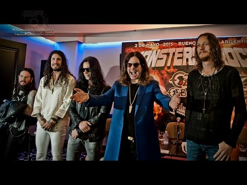 Ozzy Osbourne - Full Press Conference (Monsters of Rock, Bs. As., Argentina 01-05-15)