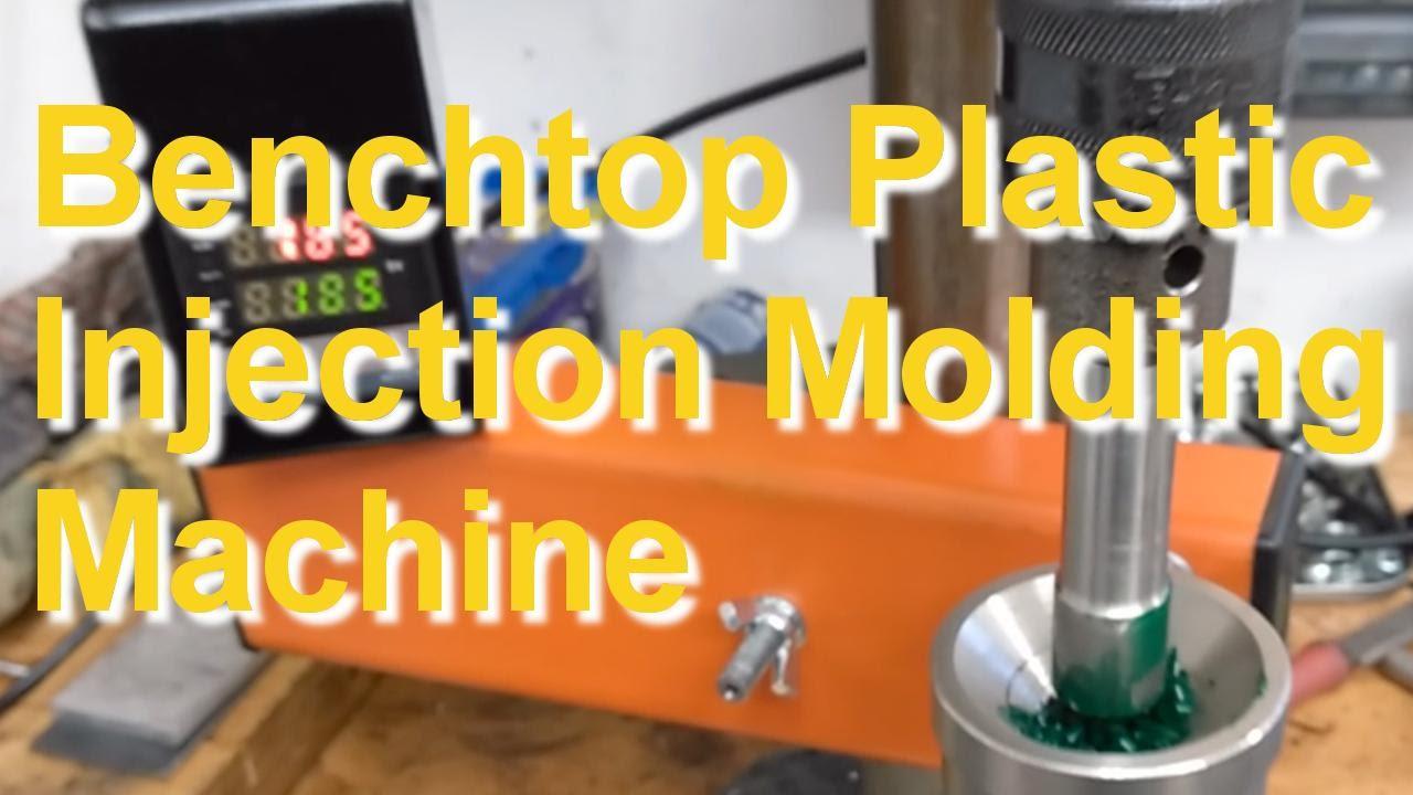 Plastic Injection Molding Machine - YouTube