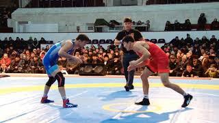 Спорт. Вольная борьба. Чемпионат Кыргызстана-2020. Финал.