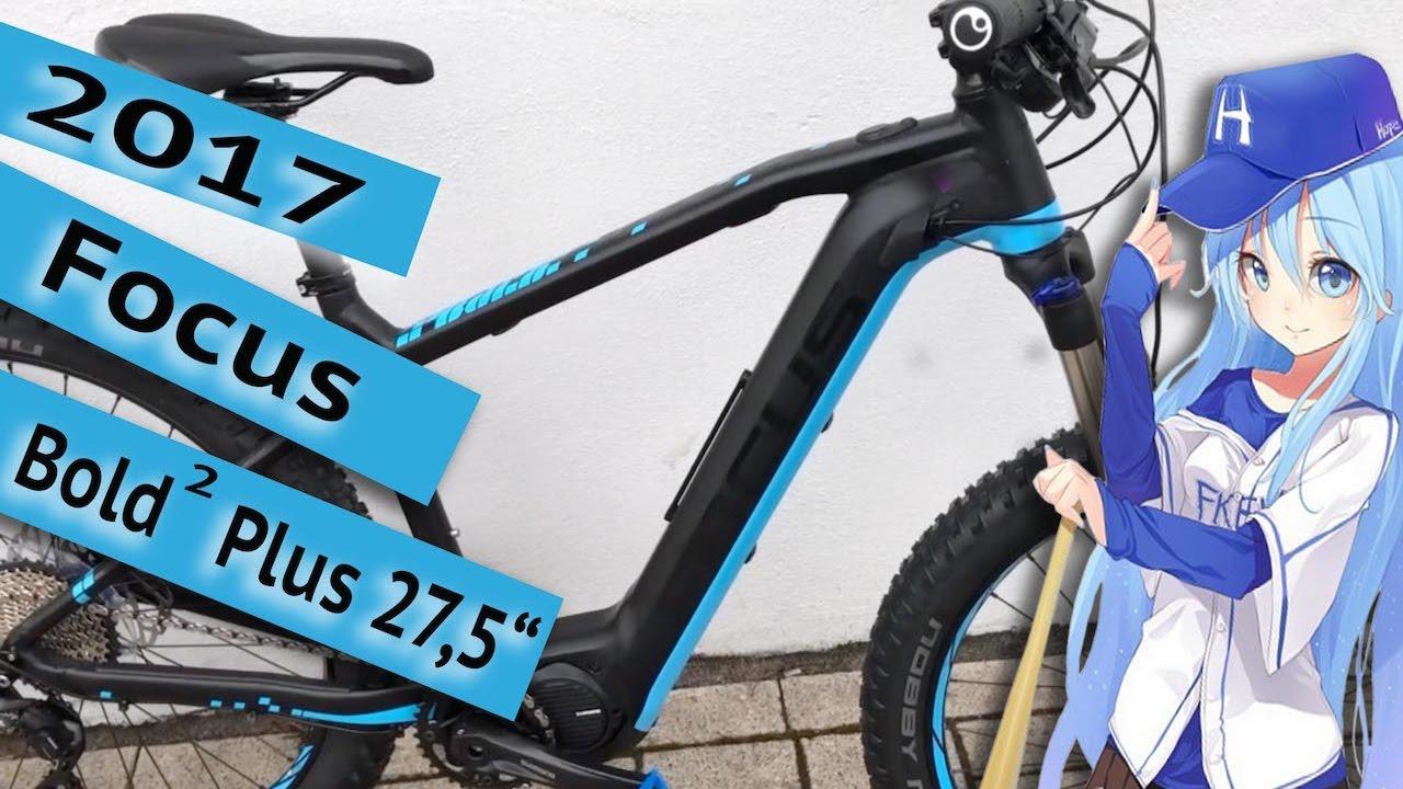 focus bold 2 plus 27 5 2017 e bike shimano steps youtube. Black Bedroom Furniture Sets. Home Design Ideas