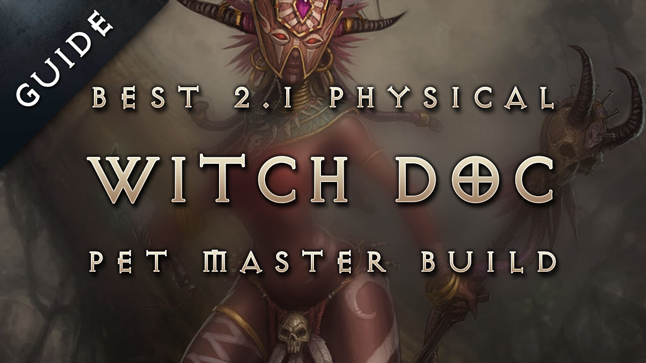 Best Witch Doctor Build Diablo