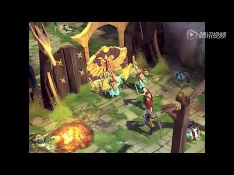 Dungeon Hunter 4 By Gameloft Blademaster Character Gameplay Demo