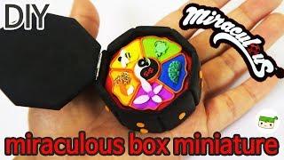 DIY/ Miraculous box miniature/ Ladybug Tutorial