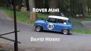 Rover Mini at Wiscombe Park Speed Hillclimb May 2015 David Hobbs