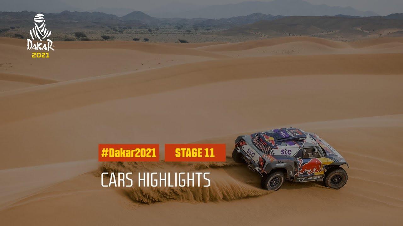 #DAKAR2021 - Stage 11 - AlUla / Yanbu - Car Highlights