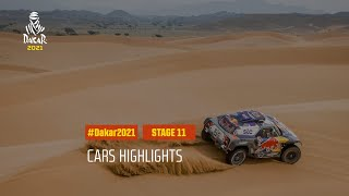 #DAKAR2021 - Stage 11 - AlUla / Yanbu - Car Highlights