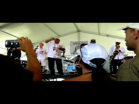 Dirty Dozen Brass Band with 'Zippy'