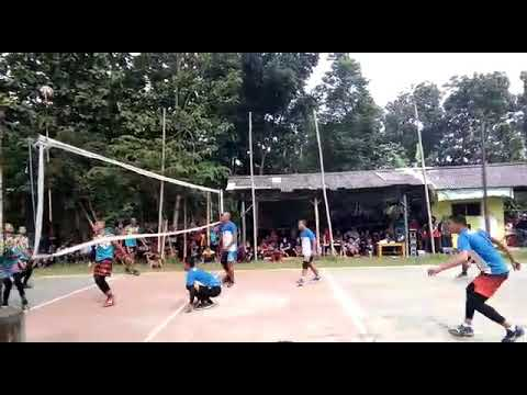 Aksi putu juniarta dan Hengki putra Mabe TNI AD bersama TJM sukatali vs Malaka B tarkam Situraja