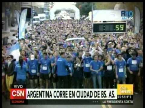 C5N - DEPORTES: ARGENTINA CORRE EN LA CIUDAD DE BUENOS AIRES