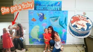 TODDLER'S DREAM NEMO PARTY! Gracelyn's 2nd Birthday Special!