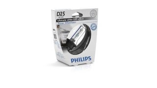 видео Ксеноновая лампа Philips D1S 6000K BlueVision 85V-35W