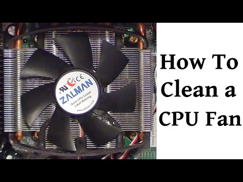 How To Clean A Desktop Processor Fan