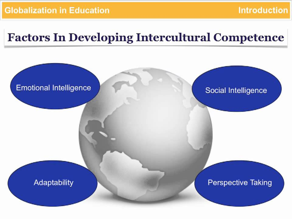 globalization in education 4 critical areas for developing intercultural competence