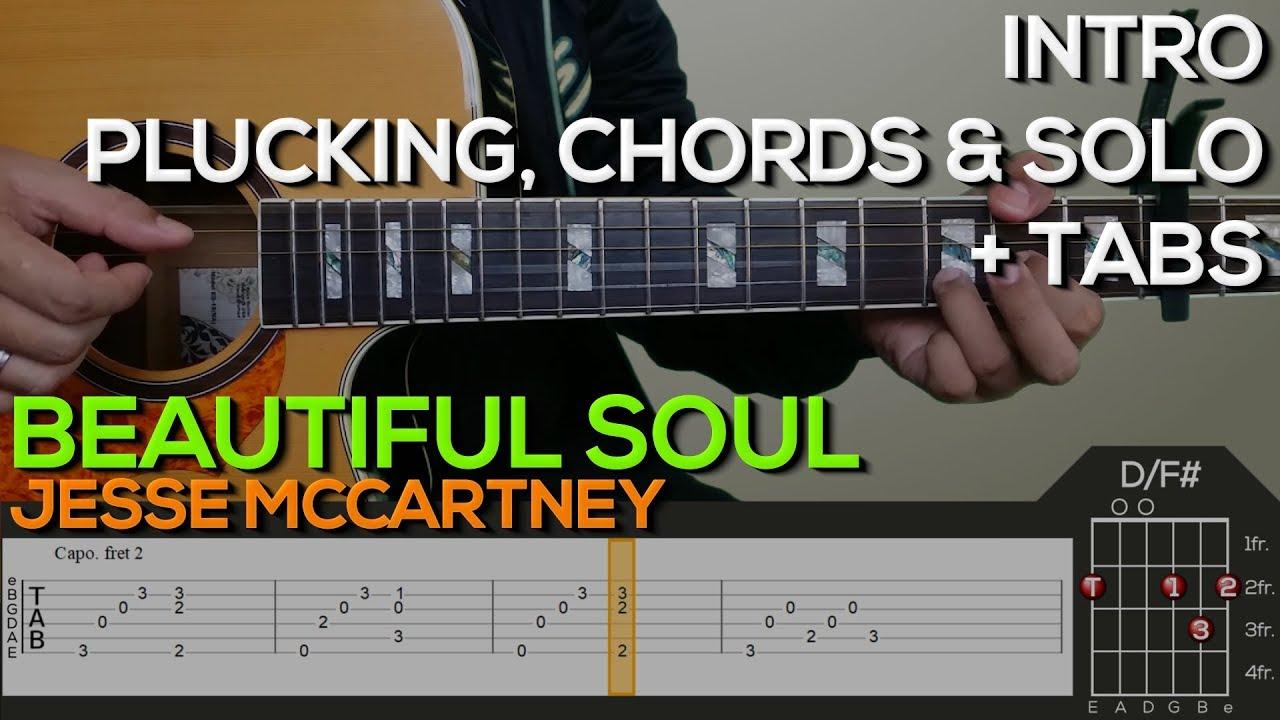 Jesse mccartney beautiful soul guitar chords