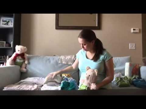 Video Blog 1 - Cloth diaper stash