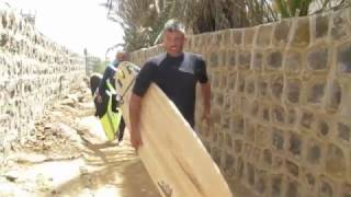 Yuval on the EYS surf adventure to Senegal