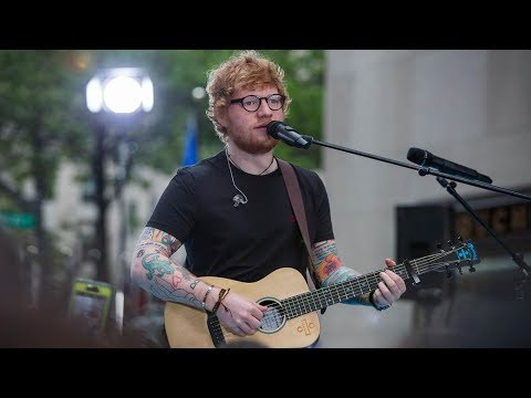 Ed Sheeran performs Galway Girl  Today Show