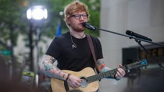 Ed Sheeran Performs 34 Galway Girl 34 On Today Show