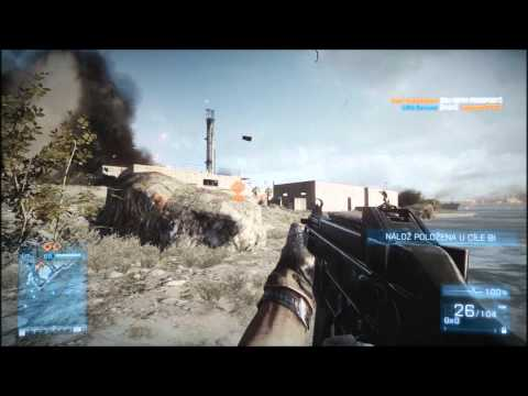 Cz | GamePlay | Battlefield 3 | Kharg Island | Rush | HD |