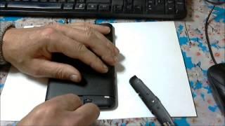 explay Hit 3G - установка сим-карт на планшет