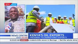 President Uhuru to flag off the inaugural Kenyan shipment of the crude oil today.