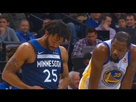 Derrick Rose's First Bucket with Timberwolves In Minnesota Timberwolves Debut!