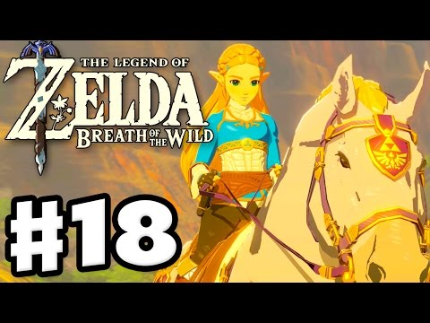Zelda's White Horse! - The Legend of Zelda: Breath of the Wi