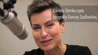 Danuta Stenka czyta fragment biografii Danuty Szaflarskiej