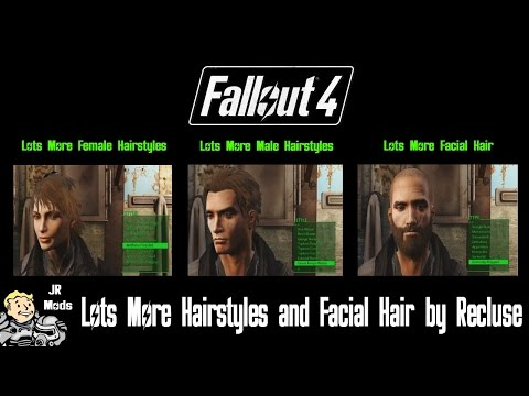 Fallout 4 Mod Showcase: Lots More Hairstyles And Facial Hair By Recluse
