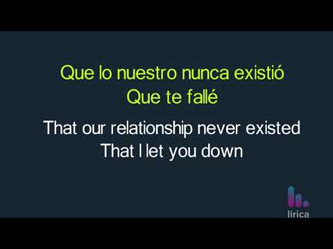 Dvicio - Enamorate Lyrics English and Spanish - Translation & Subtitles