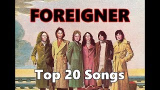 Top 10 Foreigner Songs (20 Songs) Lou Gramm (Greatest Hits)