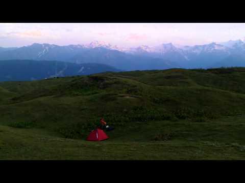 Caucasus mountains in Svaneti, Georgia