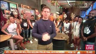 Rio Projekt Sam Mac features The Carnaval Experience on  Sunrise on 7