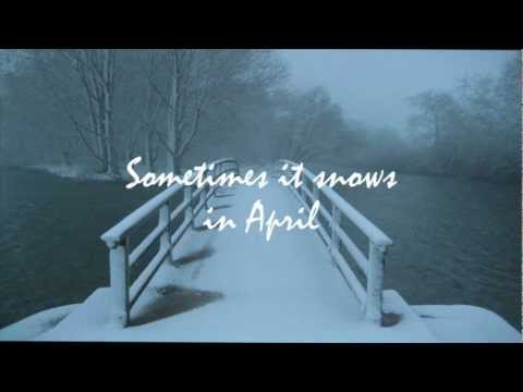 Sunday Morning Jam No. 45, April 7, 2013 (piano by MW) - Sometimes It Snows In April (Prince cover)