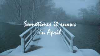 Sunday Morning Jam No. 45, April 7, 2013 - Sometimes It Snows In April (Prince cover)