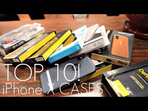 top-10-iphone-x-cases-of-2018!